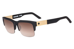 Spy - Malcolm Soft Matte Black Sunglasses, Happy Bronze Fade Lenses