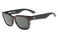 Spy - Bowie Alana Dark Tort/Black  Sunglasses, Happy Grey Green Lenses