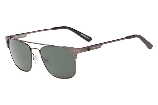 Spy Westport Gunmetal Sunglasses, Happy Grey Green Polar Lenses