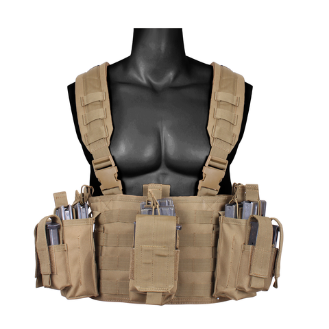 Rothco - Operators Tactical Coyote Brown Chest Rig