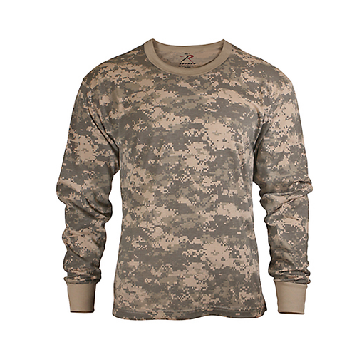 Rothco - Kids' ACU Digital Camo Long Sleeve Tee