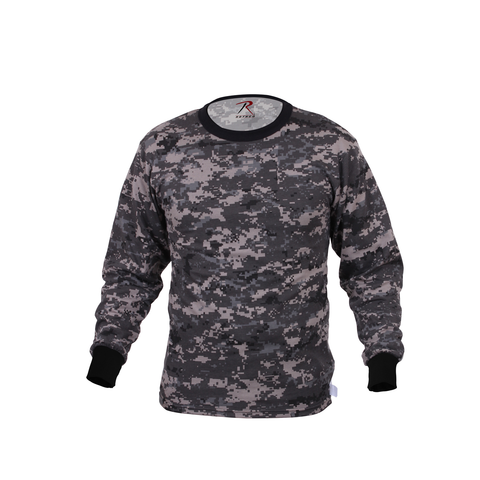 Rothco - Subdued Urban Digital Camo Long Sleeve Tee