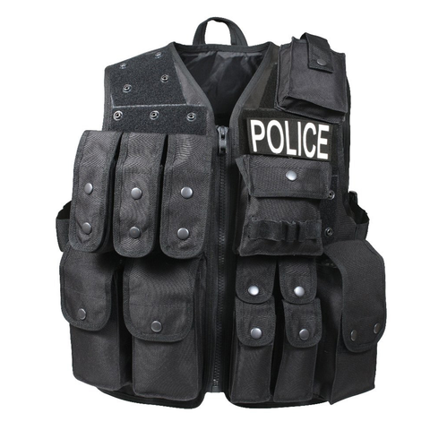 Rothco - Tactical Black Raid Vest