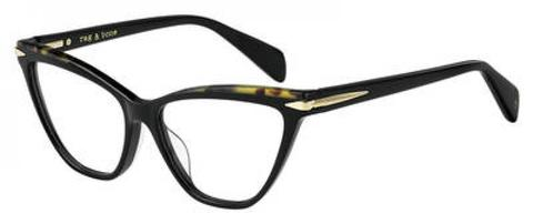 Rag & Bone - Rnb 3020 Black Eyeglasses / Demo Lenses