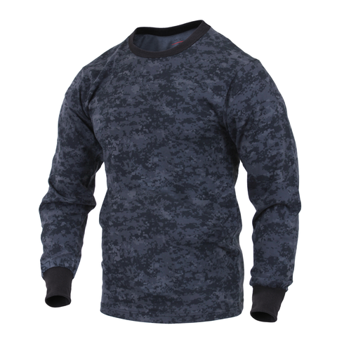 Rothco - Midnight Digital Camo Long Sleeve Tee