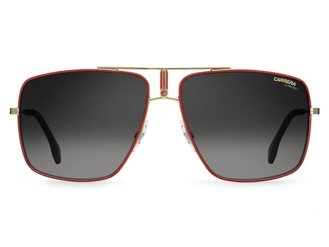 Carrera - 1006 Red Gold Sunglasses / Dark Gray Gradient Lenses
