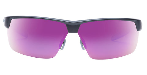 Native - Hardtop Ultra XP Matte Black Sunglasses / Violet Reflex Lenses