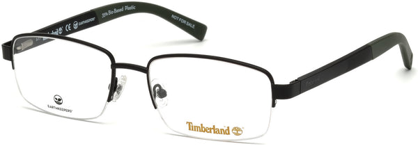 Timberland - TB1588 Matte Black Eyeglasses / Demo Lenses