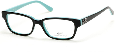 Candie's - CAA313 Black Eyeglasses / Demo Lenses