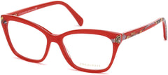 Emilio Pucci - EP5049 Red Eyeglasses / Demo Lenses