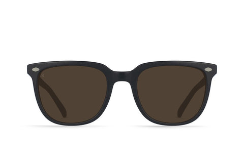 Raen - Arlo Black and Tan Sunglasses / Brown Lenses