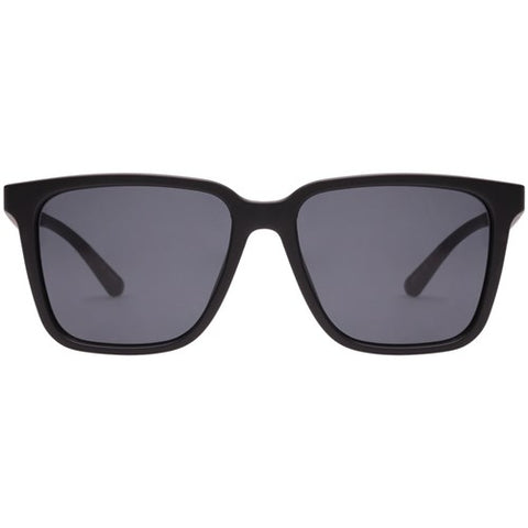 Le Specs - Fair Game Matte Black Sunglasses / Smoke  Lenses