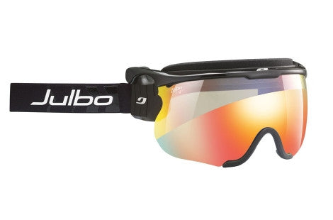 Julbo - Sniper M Black Goggles, Zebra Light Lenses