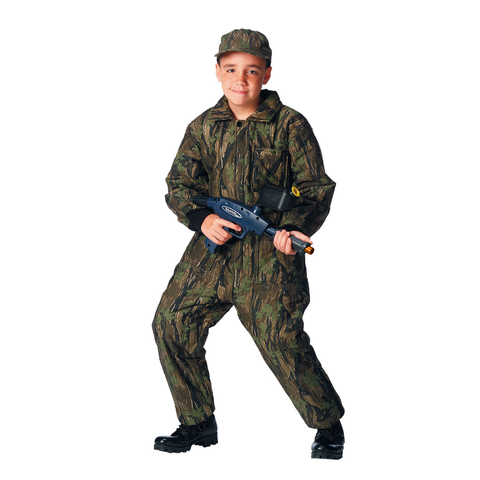 Rothco - Kids' Insulated Smokey Branch Camo Coveralls