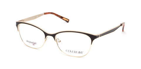 Cover Girl - CG0542 Matte Black Eyeglasses / Demo Lenses