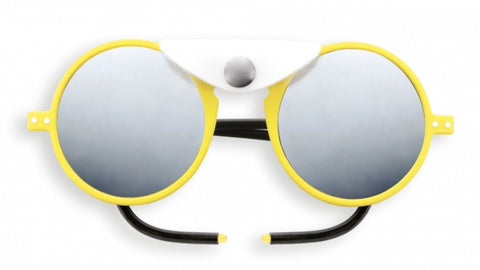 Izipizi - #Sun Glacier Yellow Citrus Sunglasses / Polarized Brown Polycarbonate Lenses
