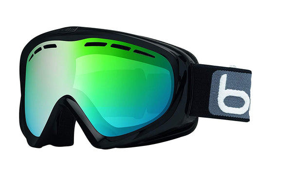Bolle - Y6 OTG Matte Black Snow Goggles / NXT Modulator Green Emerald Lenses