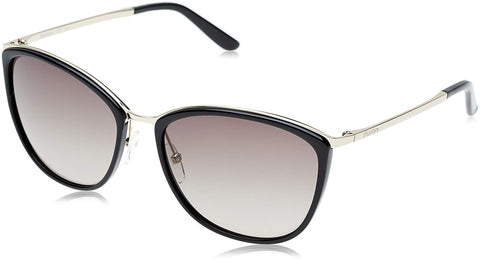 Max Mara - Classy I Light Gold Black Sunglasses / Brown Gradient Lenses
