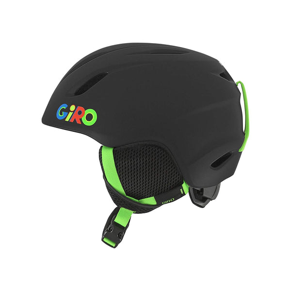 Giro - Launch XS Matte Black Wild Snow Helmet