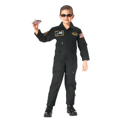 Rothco - Kids' Flight Patch Black Coveralls