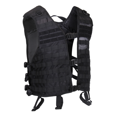 Rothco - Lightweight MOLLE Black Utility Vest