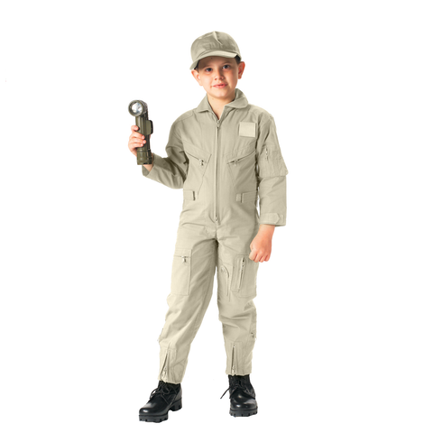 Rothco - Kids' Air Force Type Khaki Flightsuits