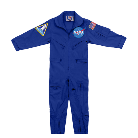 Rothco - Kids' NASA Flight Official Patch Coveralls