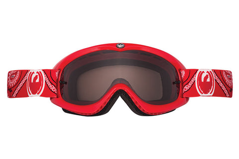Dragon - MDX Hydro Red Paisley / Dark Smoke Moto Goggles