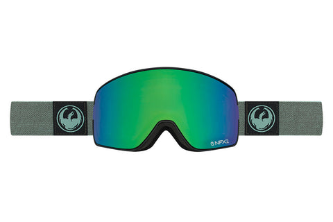 Dragon - NFX2 Hone Emerald / Lumalens Flash Green + Lumalens Flash Blue Goggles