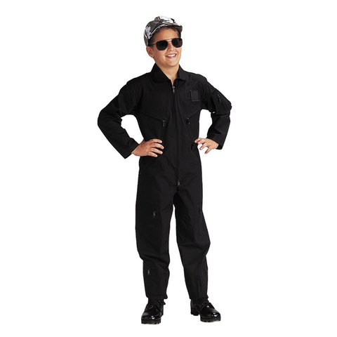 Rothco - Kids' Air Force Type Black Flightsuits