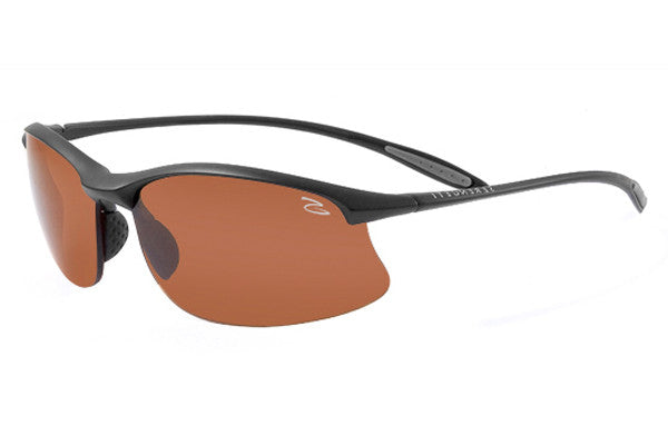Serengeti - Maestrale Satin Black Sunglasses, Polar PhD Drivers Lenses