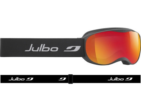 Julbo - ATMO Black Goggles, Mirror Spectron Cat. 3 Double Lenses