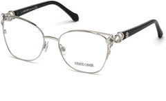Roberto Cavalli - RC5062 Londa Shiny Palladium Eyeglasses / Demo Lenses