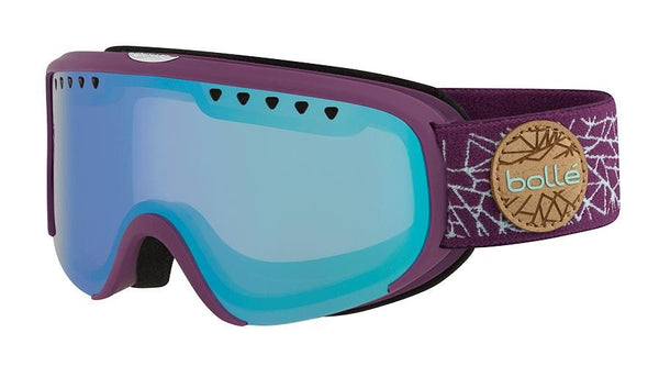 Bolle - Scarlett Matte Purple Mint Diamond Snow Goggles / Aurora Lenses