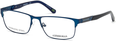 Skechers - SE3202 Matte Blue Eyeglasses / Demo Lenses
