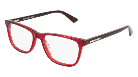 McQ - MQ0120OP 50mm Burgundy Eyeglasses / Demo Lenses