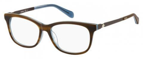 Fossil - Fos 7025 50mm Brown Eyeglasses / Demo Lenses