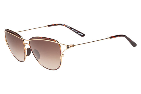 Spy - Marina Gold/Tort Sunglasses, Happy Bronze Fade Lenses