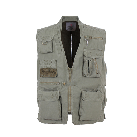 Rothco - Deluxe Safari Outback Olive Drab Vest