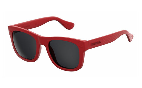 Havaianas - Paraty S Red Sunglasses / Gray Lenses