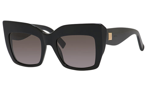 Max Mara - Gem I Black Sunglasses / Gray Gradient Lenses
