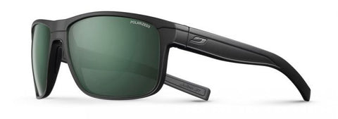 Julbo - Renegade Matte Black Sunglasses / Green Polarized 3 Lenses