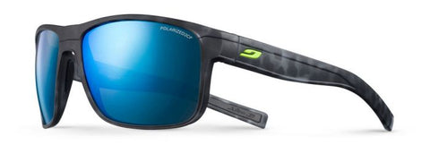 Julbo - Renegade Black Tortoise Shell Sunglasses / Blue Polarized Lenses