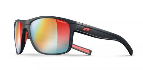 Julbo - Renegade Black Sunglasses / Reactiv Photochromic Zebra Light Lenses