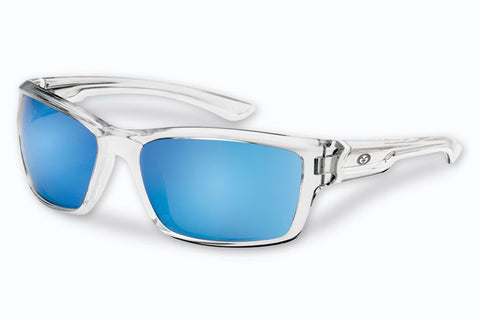 Flying Fisherman - Cove 7721 Crystal Sunglasses, Smoke Blue Mirror Lenses