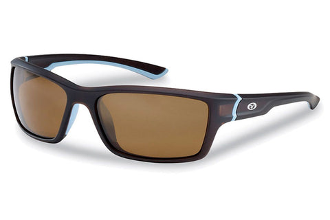 Flying Fisherman - Cove 7721 Matte Crystal Navy Sunglasses, Amber Lenses