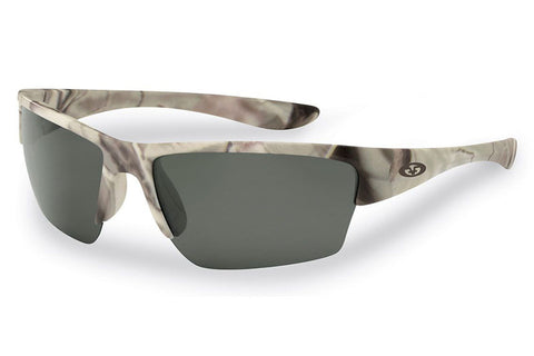 Flying Fisherman - Glades 7724 Matte Camo Sunglasses, Smoke Lenses