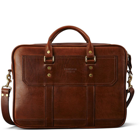 J.W. Hulme - Fremont American Heritage Leather Briefcase