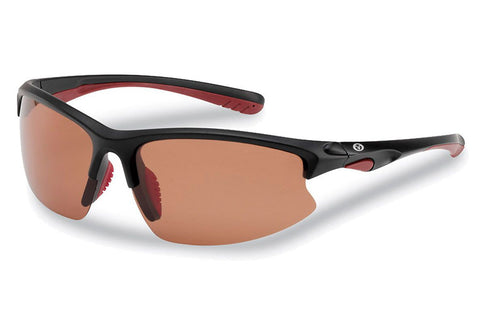 Flying Fisherman - Drift 7828 Matte Black Sunglasses, Copper Lenses
