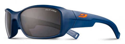 Julbo - Rookie Blue Sunglasses / Black Polarized Junior Lenses